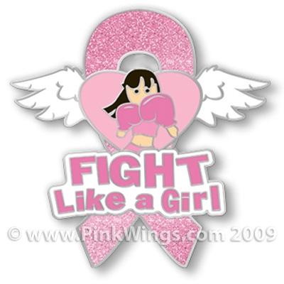 Fight Like a Girl Temporary TattooFight Like A Girl Tattoo